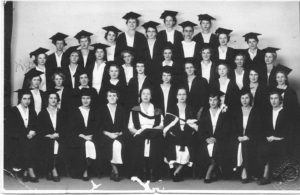 Picture from the collection of Petra (Kip) Jones (nee Skoien), pictured second row far left.