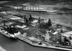 Pictured: Fairless Works Steel Mill. Photograph supplied by Fred D'Agostino